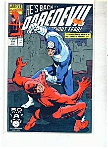 Daredevil comics -  # 290   March 1991 (Image1)