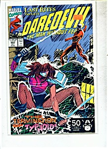 Daredevil comics -  # 297  October 1991 (Image1)