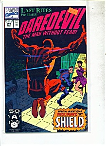 Daredevil comics -  # 298  -  Novemer 1991 (Image1)