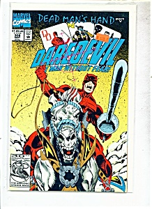 Daredevil comics -  # 308  September 1991 (Image1)
