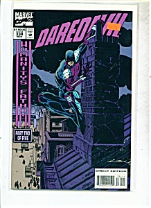 Daredevil comics -  # 334 November 1994 (Image1)