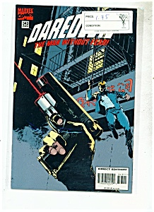 Daredevil comics -  # 343  August  1995 (Image1)