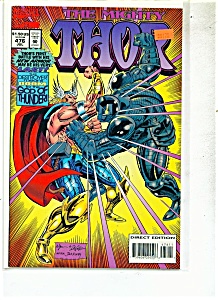 The Mighty Thor comic -  # 476  July 1994 (Image1)