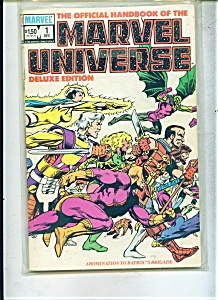 Marvel Universe -  # 1   December 1985 (Image1)