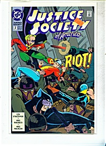 Justice Society of America comic - # 2  Sept. 1992 (Image1)