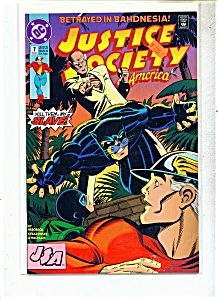 Justice Society Of America Comic - # 7 Fe Bruary 1993