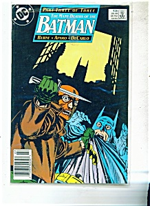 Batman comics -  # 435 - July 1989 (Image1)