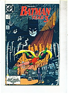 Batman year 3 comic -  # 437  - 1989 (Image1)