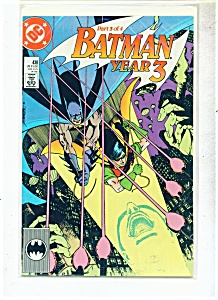 Batman year 3  -  # 438   1989 (Image1)
