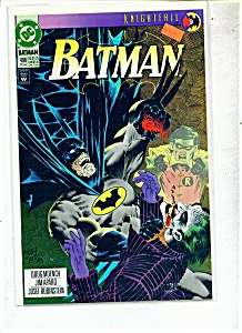 Batman comics -  # 496 - Early July 1993 (Image1)