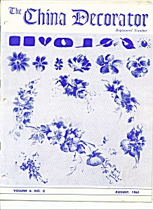 The China Decorator August 1961