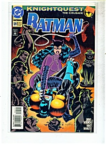 Batman comic -  # 504  -  February 1994 (Image1)