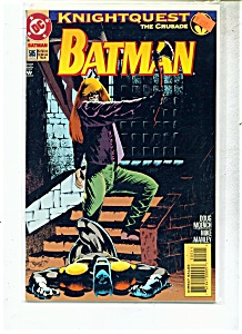 Batman comic -  # 505 -   March 1994 (Image1)