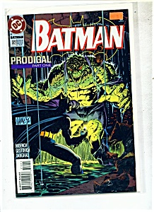 Batman comic -=  # 512 -  November 1994 (Image1)