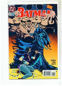 Batman comic -  # 517    April 1995 (Image1)