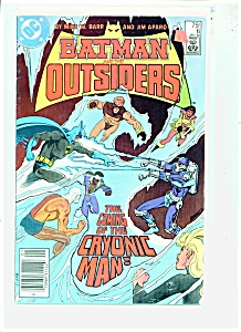 Batman and the Outsiders comic -  # 6 Jan. 1984 (Image1)
