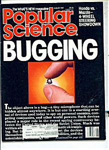 Popular Science Magazine - August 1987