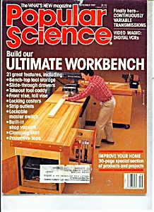 Popular Science Magazine - September 1987