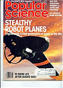 Popular Science Magazine-  October 1987 (Image1)