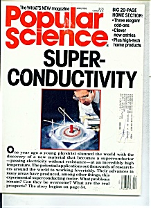 Popular Science Magazine - April 1988