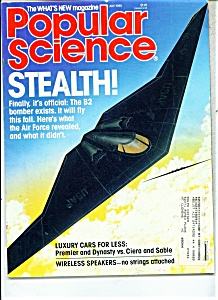 Popular Science Magazine -  July 1988 (Image1)