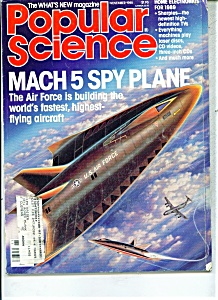 Popular Science Magazine - November 1988 (Image1)