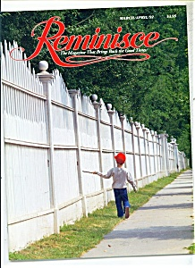 Reminisce magazine -  March/April 1992 (Image1)