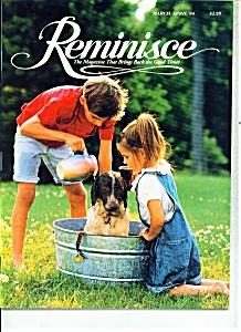 Reminisce magazine -  MarchApril 1994 (Image1)