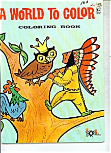 A World to color coloring book - # 2913- PRINTED IN FIN (Image1)