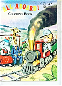 ALL ABOARD!  coloring book -  # 2905 (Image1)