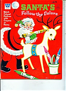 1969 WHITMAN Santa's follow the colors -  # 1127 (Image1)