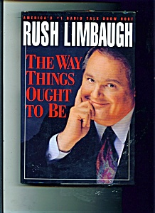 Rush Limbaugh book - The way things ought to be (Image1)