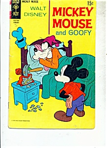 Mickey Mouse and Goofy comic - # 124  Feb. 1970 (Image1)