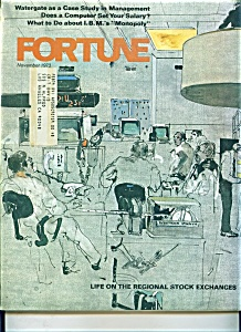 Fortune Magazine -=  November 1973 (Image1)