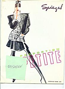 Spiegel Catalog  Spring 1988 magazne (Image1)