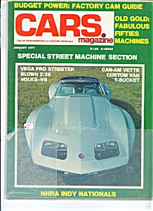 Cars Magazine  - Jan. 1977 (Image1)