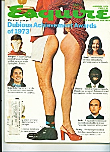 Esquire Magazine - January 1974 (Image1)