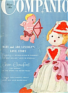 Womans Home Companion Magazine - Feb. 1955