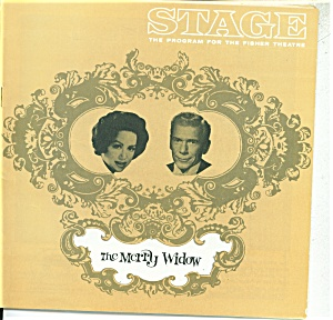 Stage play program -Fisher Theature - 1964 The Merry Wi (Image1)