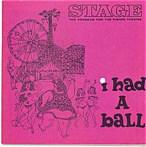Fisher Stage program - I had a ball -  1964 (Image1)