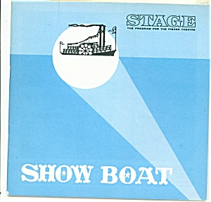 Fisher Stage Program - Show Boat - 1966