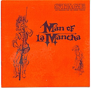 Fisher Stage Program - The Man Of La Mancha 1966