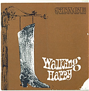 Fisher stage program - Walking Happy - 1966Fisher stage (Image1)
