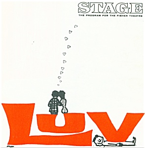 Fisher STage program.  - LUV -    1966 (Image1)