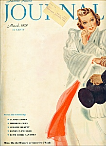 Ladies Home Journal magazine - March 1938 (Image1)