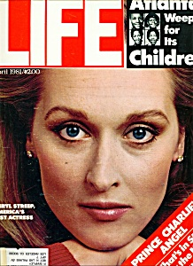 Life Magazine -  April 1981 Meryl Streep (Image1)