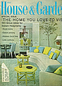 House & Garden Magazine - July 1967 (Image1)