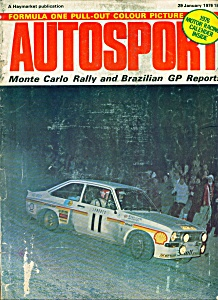 Autosport magazine - January 29, 1976 (Image1)