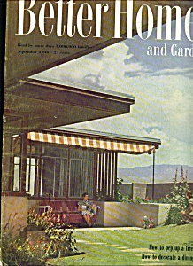 Better Homes & Gardens magazine - Sept. 1948 (Image1)