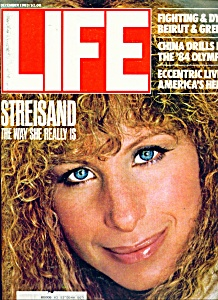 Life Magazine - Barbra Streisand- December 1983